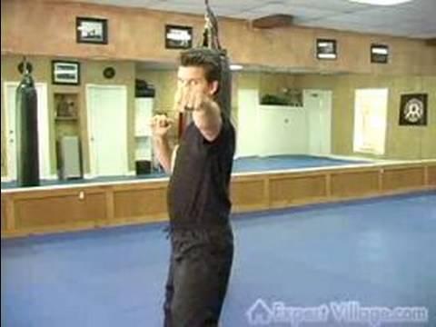 Kickboks Egzersizler: Kickboxing Tekniği: Vur