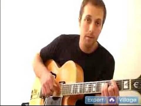 Caz Gitar Çalmayı: Caz Gitar Anlaşarak Yürüyüş Bas Gitar Akor