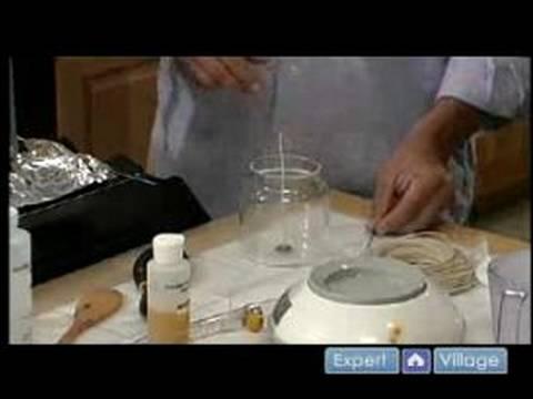 Mumlar Yapmak İçin Nasıl : Soya Mum Yapımı İçin Daha Fazla Yemek Tarifleri