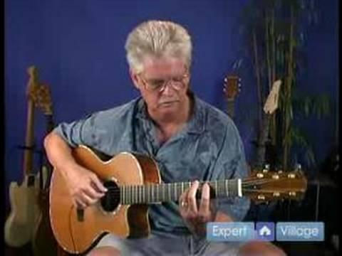 Nasıl Parmak Tarzı Gitar: Gitar İçin Ayarlama Değiştirilmiş