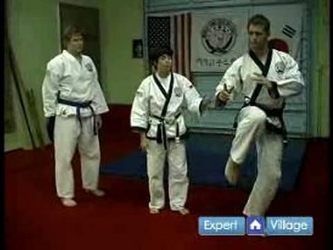 Tang Çok Yapmak Kore Dövüş Sanatları: Tang Balta Tekme De Öyle Dövüş Sanatları