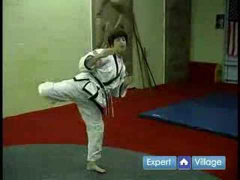 Tang Çok Yapmak Kore Dövüş Sanatları: Tang Kanca Tekme İplik Öyle Dövüş Sanatları