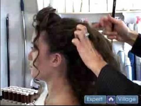 Düğün Günü Gizli: Yarım Up Ve Yarım Aşağı Saç Modelleri: Düğün Gizli