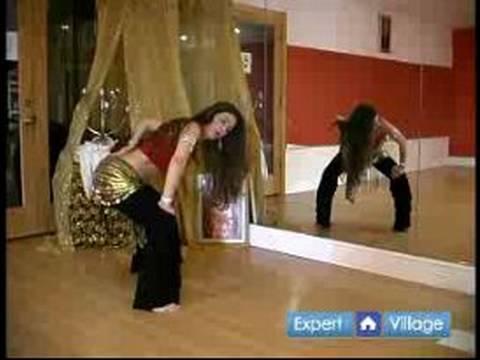 Acemi Oryantal Dans Dersleri: Göbek Dansı İçin Teknik Sıcak Haddeleme