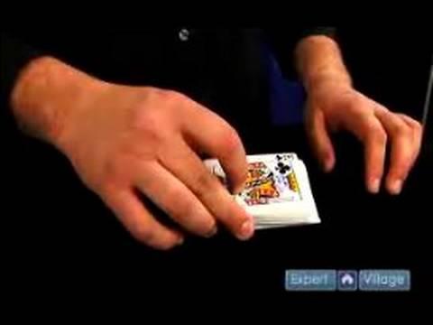 Sihir Numaraları: Kart Zorlama : Derin Kesme Kuvveti Card Magic Trick