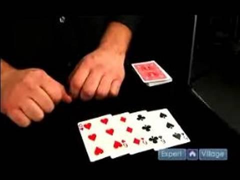 Sihir Numaraları: Kart Zorlama : Üç Kart Tahmin Card Magic Trick