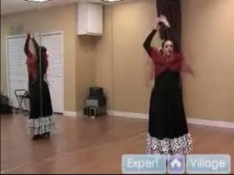 Flamenko Dans Yapılır: Orta Castanet Öğretim Flamenko Dans İçin: Part 2