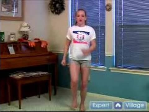 Jimnastik Sıcak Ups: Kardiyo Jimnastik Sıcak Ups