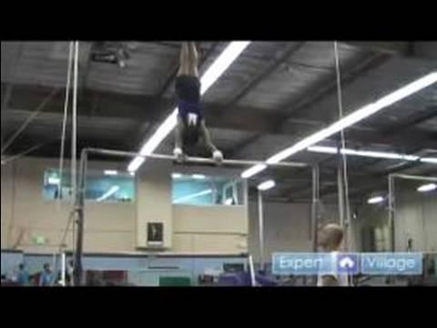 Jimnastik Ve Yuvarlanan Çocuklar İçin Gelişmiş: Nasıl Bir Düzensiz Şekilde Kaldırmak İçinde Bar Çocuklar Jimnastik