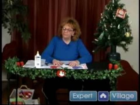 Noel Süsleri Yapmak İçin Nasıl : Noel & Tatil Mitten Süs Yapmak İçin Nasıl