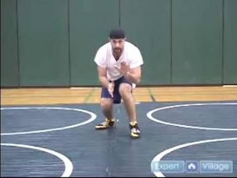 Profesyonel Güreş Hamle Yapmak İçin Nasıl & Tutumları : Kalça Kesilmiş Savunma Gençlik Güreş Hareket