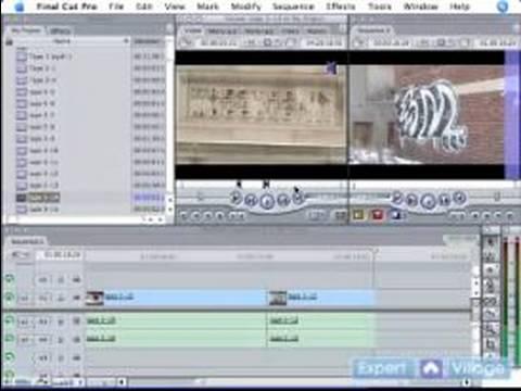 Final Cut Pro 5 Video Düzenleme : Öğretici: Temel Final Cut Pro 5 Düzenleme