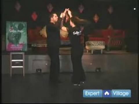 Gelişmiş Salsa Dans Hamle: İç Sıra Çift İhbar: Salsa Dans Gelişmiş