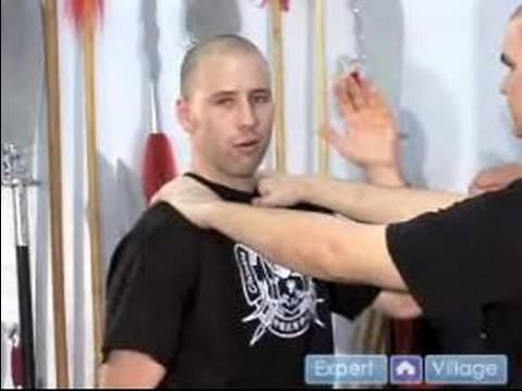 Kung Fu Önde Gelen Boğulma Kaçmak İçin Nasıl Kendini Savunma Hareketleri Temel :