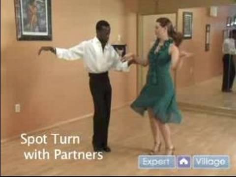 Nasıl Dans Dans: Spot Çevirmek İle Jive Dans Ortağı
