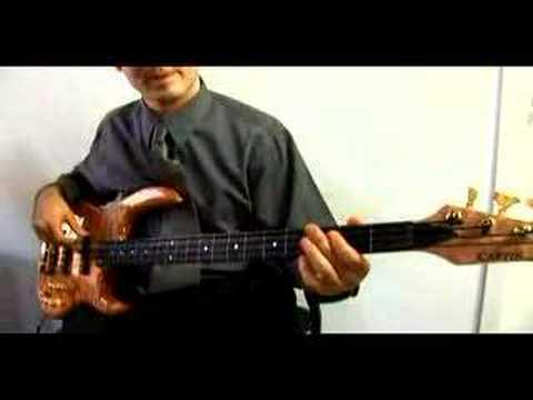 Gelişmiş Bas Gitar Oktav Ölçekler Ve Modları: 2 Oktav Ölçekler Ve Modu Bas: Doğal Küçük Bölüm 2