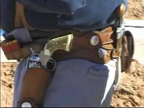Kovboy Eylem İpuçları Ve Teknikleri Çekim: Deri Tür Silah Kemerleri: Kovboy Aksiyon