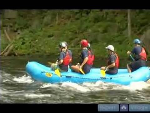 Nehir Rafting İçin Beceri Çalışan : Wave Rafting İçin İpuçları Sörf