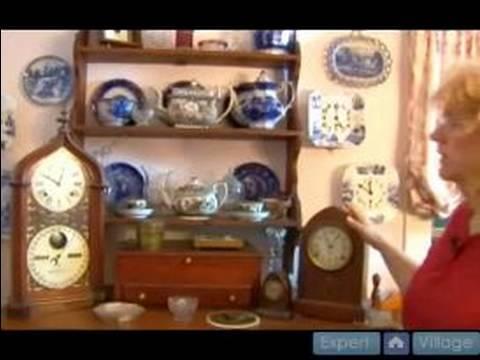 Antika: Antika Saatler Görüntülemek İçin Nasıl 19'uncu Yüzyıl Saatler Toplama :