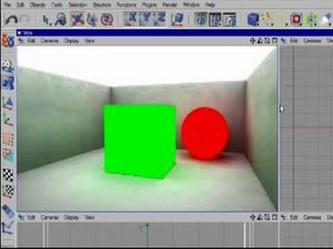 Radiosity Cinema 4 D Kullanarak İç Yakmasını: Dengeleme Ayarlarını Cinema 4 D