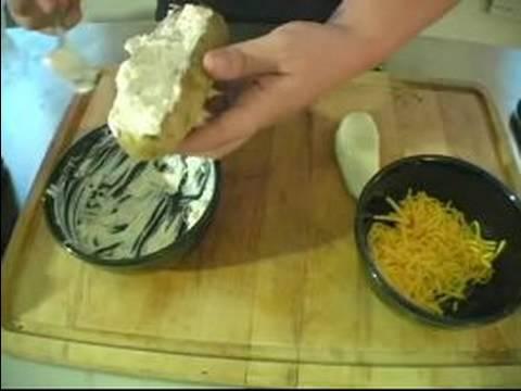 Barbekü Garnitür Tarifleri : Patates İçin Karışım & Patates Dolması Yapımı