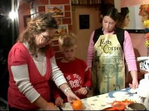 Nasıl Cook Çocuklarla: Bıçak Güvenlik İpuçları Çocuklarla Yemek Pişirmek İçin