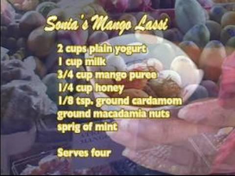 Nasıl Hint Mango Lassi Yapmak: Nasıl Hint Mango Lassi Yapmak