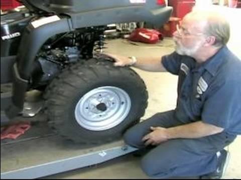 ATV lastiklerindeki basınç ne olmalıdır