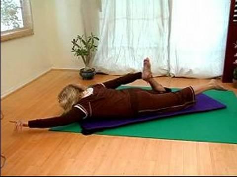 Hatha Yoga Pozisyonları Yalan: Pozlar Hatha Yoga Aşağı Yalan Söylediğim İçin Germe
