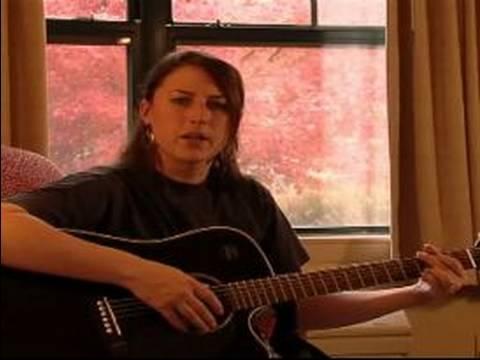Nasıl Bir Noel Şarkısı Yazma : Noel Müzik İçin Gitar Tıngırdatmaya Desen: Bölüm 1