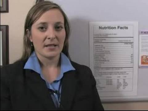 Sağlıklı Beslenme İçin Gıda Etiketleri Okuyun Nasıl : Gıda Etiketleri Üzerinde Beslenme Bilgileri