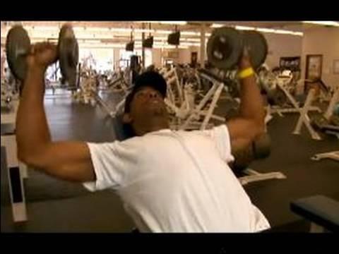 Göğüs Ve Sırt Egzersizleri: Üst Vücut Egzersiz: Etmek Incline Bench Press, Göğüs Egzersiz İçin