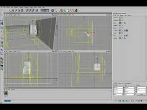 Nasıl Cinema 4D İle Dalgalanan Bir Bayrak Yapmak İçin : Cinema 4D Partikülleri Ve Deformasyon Kullanarak