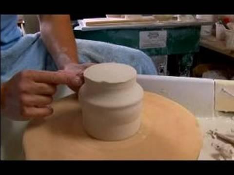 Nasıl Seramik Bardak Ve Vazo Yapmak: Ayaklı Seramik Kupa Kırpma