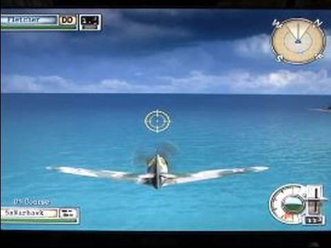 Battlestations Midway Video Oyun Oynarken: Battlestations Midway Filosu Komut Eskort