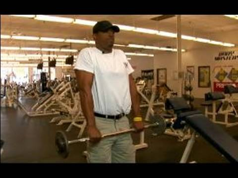 Göğüs Ve Sırt Egzersizleri: Üst Vücut Egzersiz: Barbell Silkiyor Geri Egzersiz İçin