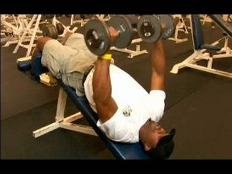 Göğüs Ve Sırt Egzersizleri: Üst Vücut Egzersiz: Etmek Düşüş Bench Press, Göğüs Egzersiz İçin