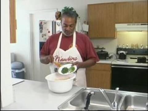 Nasıl Cajun Tarifi Boudin Kerevit Yapmak İçin : Yeşil Soğan Ve Maydanoz Boudin Tarifi Kerevit Ekleme
