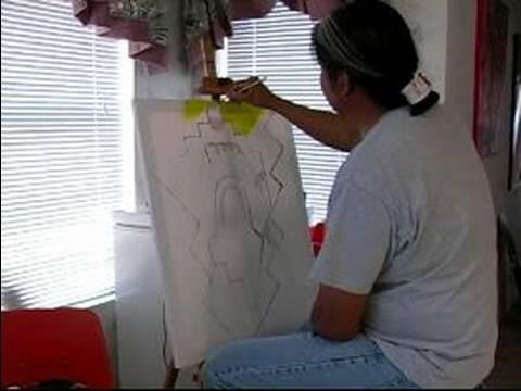 Nasıl Geleneksel Navajo Boya İçin Sanat: Geleneksel Bir Navajo Resim Evrimi: Pt. 4