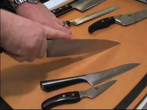 Nasıl Mutfak Bıçakları Seçmek İçin: Mutfak Bıçakları Holding: Bölüm 2