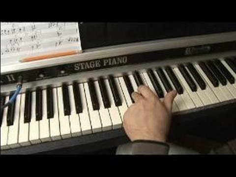 Nasıl Piyano Melodileri E Play: Nasıl Piyanoda E Major Ölçekli Oynanır