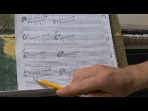 Piyano (Si Bemol) Yazılı Bb Bir Ölçek Oynamak İçin Nasıl Bb (Si Bemol) Piyano Melodileri Çalmak :