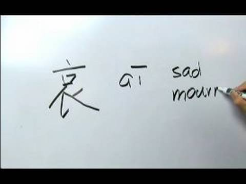 Nasıl Çince Yazma: Yazma V Radikaller :