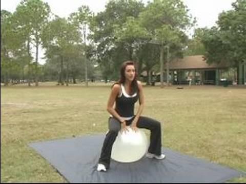 Nasıl Egzersiz Topu Kullanılır: Egzersiz Egzersiz Topu İle Ağız Kavgası
