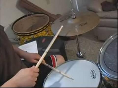 Rock Beats Ve Ritimleri: Davul Dersleri: Merhaba Şapka İçin Egzersizler Merhaba Şapka Ve Snare Ritim Davul