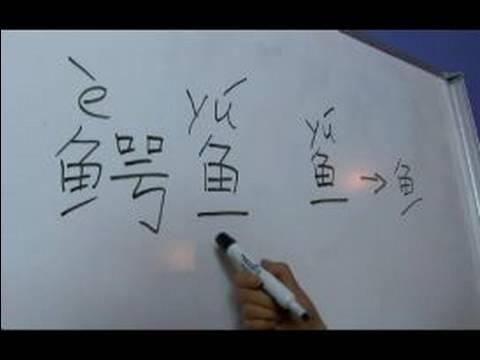 """Çin Semboller Iı Hayvan Yazma Konusunda: """"timsah"""" Çince Semboller Yazmak İçin Nasıl"""