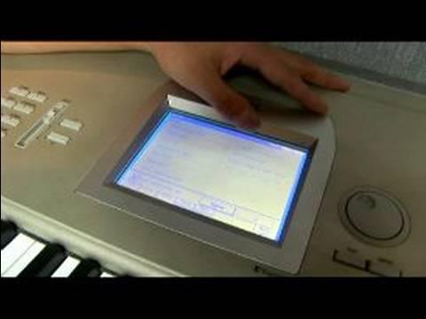 Nasıl Korg Triton Studio Bir Klavye Oynamak İçin : Korg Triton Studio Klavye Disk Düğmesi