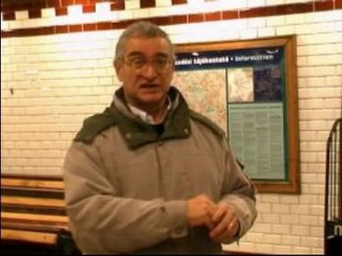 Budapeşte, Macaristan Metro Sürme : Budapeşte Metro Clark Adam Ter İstasyonu