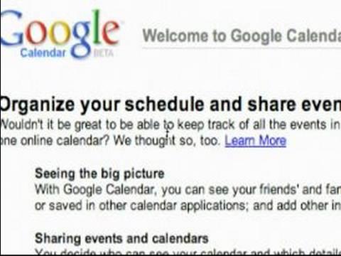 Google Takvim Kullanma: Google Takvim Arabirimi Genel Bakış