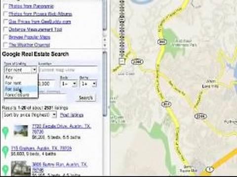 Nasıl Google Kullanmak İçin Haritalar: Farklı Haritalar Google Haritalar'da Görüntüleme